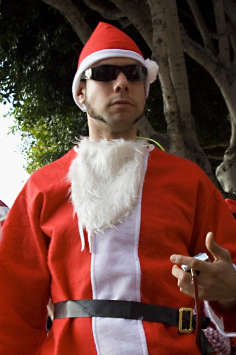 photoblog image Blues Brothers Santa
