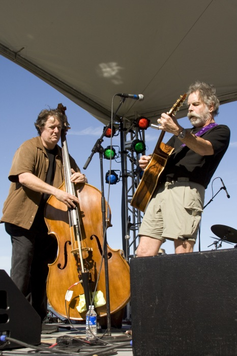 photoblog image Rob Wasserman and Bob Weir