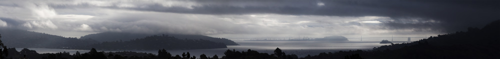 photoblog image Stormy San Francisco Bay