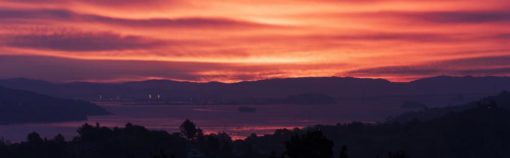 photoblog image San Francisco Bay Sunrise 2