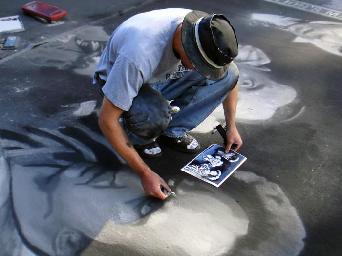 photoblog image Italian Street Painting Festival